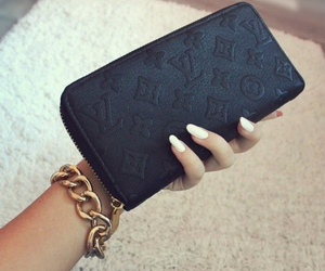 girly, luxury, and wallet image