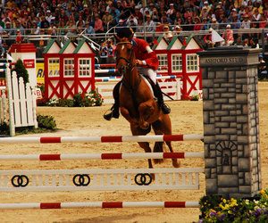 horse, rolex, and show jumping image