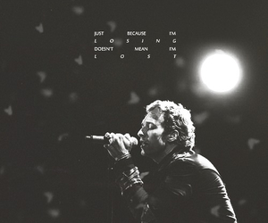 coldplay, lost, and Chris Martin image