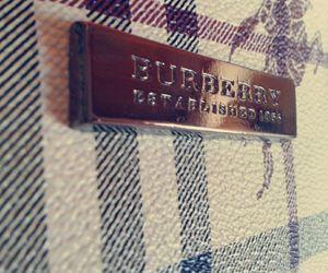 Burberry and hand bag image