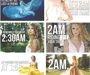 Taylor Swift and 2am image