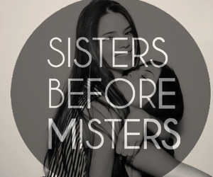 sisters, love, and friends image