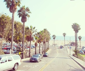 california, street, and summer image