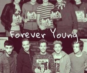 one direction, Forever Young, and louis tomlinson image