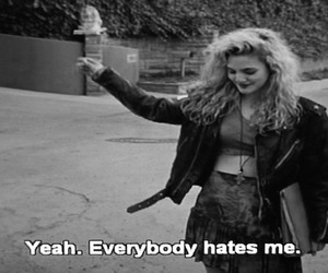 hate, grunge, and quote image