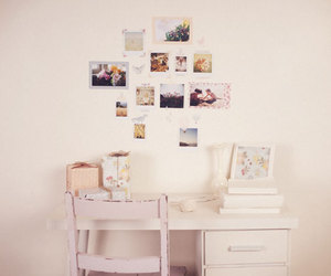 desk, photography, and white image