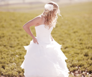 dress, girl, and blonde image