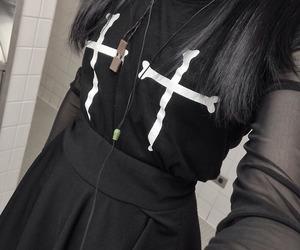 black, bracelet, and dark image