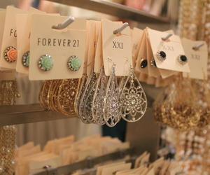 forever 21, cool, and earrings image