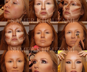 beauty, face, and make up image