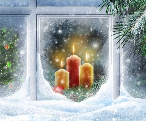 candles, cold, and magic image