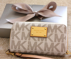 Michael Kors, wallet, and bag image