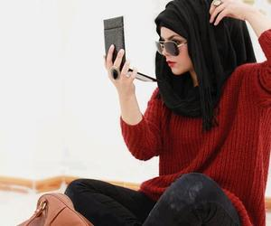 hijab, islam, and muslim image