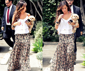 ashley tisdale, dog, and fashion image