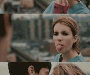 Collage, emma roberts, and love image