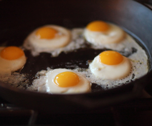 food, yummy, and egg image