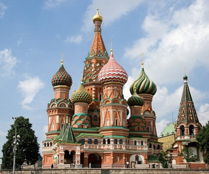 Mosca, russia, and love image