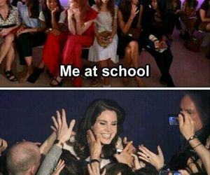 school, internet, and lana del rey image