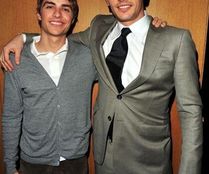 brothers, smile, and franco image