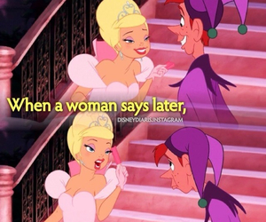 funny, disney, and women image