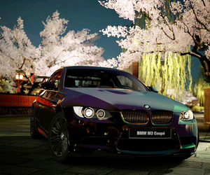 bmw, flowers, and m3 image