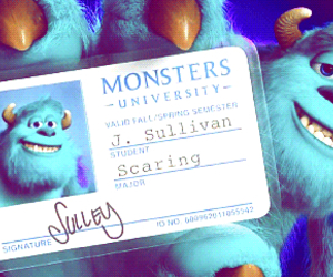 Collage, disney, and monsters university image