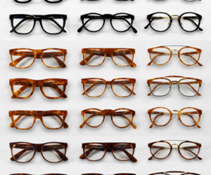 glasses and hipster image