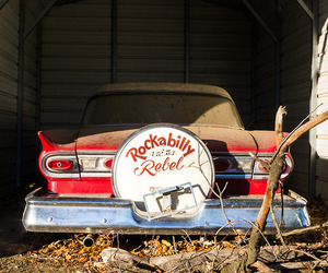 cars, rebel, and rockabilly image