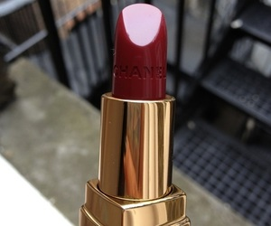 chanel, girly, and lipstic image