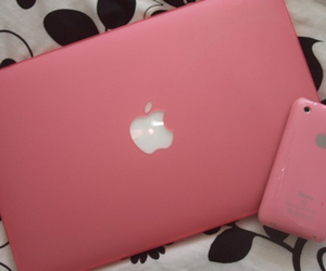 apple, girly, and mac book image