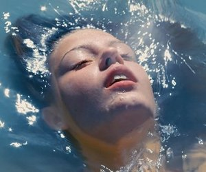 blue is the warmest color, water, and la vie d'adèle image