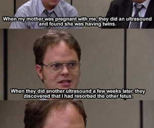 funny, the office, and baby image