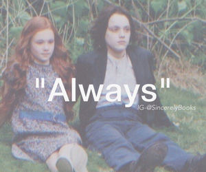 harry potter, book, and severus snape image