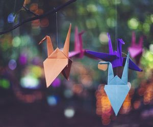 origami, beautiful, and cute image