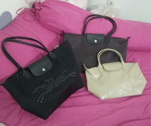 bag, bags, and Longchamp image