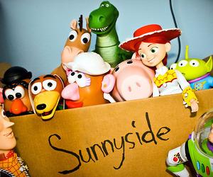 toy story, sunnyside, and toys image