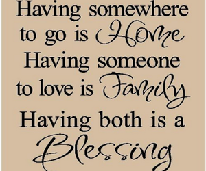 family, blessing, and home image