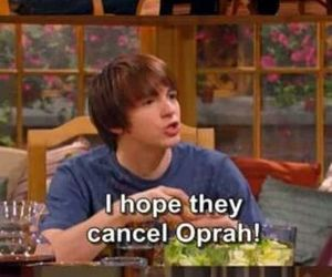 drake and josh, funny, and oprah image