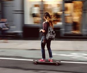 skate and girl image