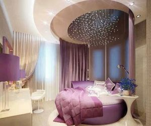beautiful, bedroom, and pink image