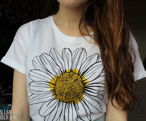 fashion, tumblr, and daisy image