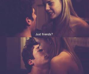 just friends, make out, and friends with benefits image