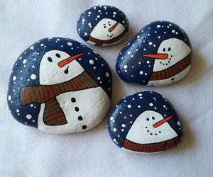 christmas, paint, and crafts image