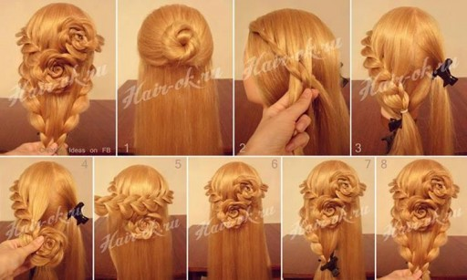 How To Do Pretty Flower Braid Hairstyles Step By Step Diy Tutorial