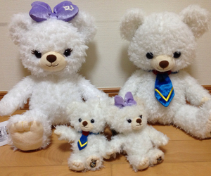 bear, disney, and white image