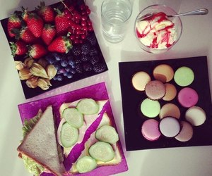 berries, desserts, and food image