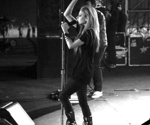 Avril Lavigne, Avril, and concert image