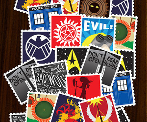 Avengers, Dexter, and doctor who image