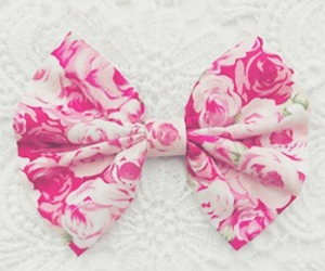 pink, bow, and fashion image