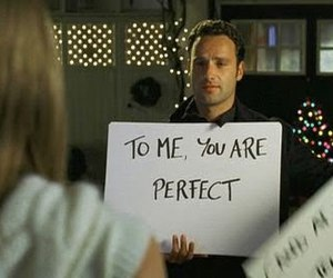 love actually and perfect image